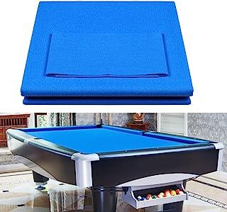 BRLIUK Pool Cloth Pool Table Cloth Solid Color Billiard Table Cloth Accessories Nylon Billiard Pool Professional Hotel Sports