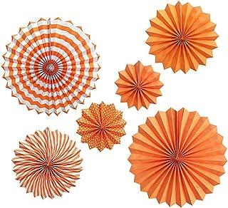 BOENTA Partie Papier Ventilateur Décoration Ronde Garland Nid d'abeille Papier Pom Poms Ronde Accessoires Papier de Soie D...