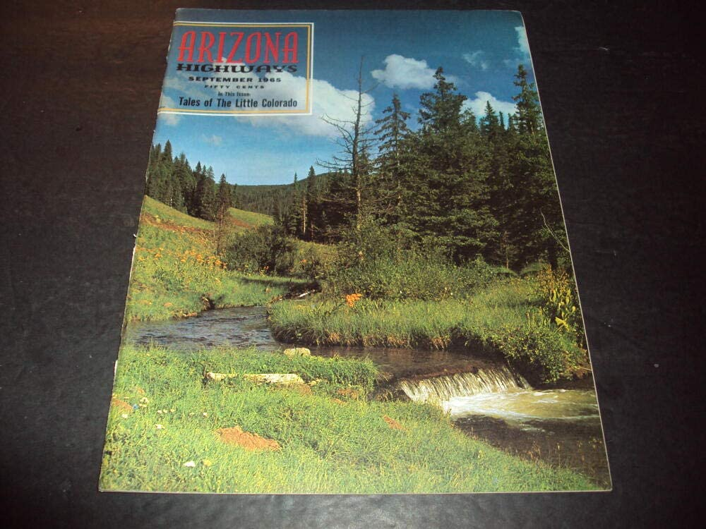 Manufacturer OFFicial shop low-pricing Arizona Highways Sep 1965 Tales Colorado the Little of