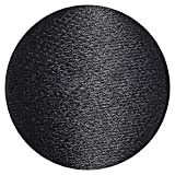 Black Tuxedo Button 30L Sewing Shank Buttons 0.75in - 19mm Satin Covered Pack of 12