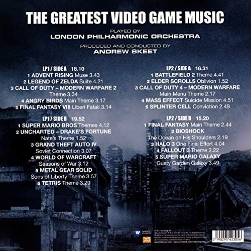 The Greatest Video Game Music [VINYL]