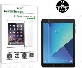 RKINC - Protector de Pantalla para Samsung Galaxy Tab S2 de 9,7 Pulgadas (2 Unidades, Cristal Templado Transparente, dureza 9H, Borde 2.5D), 0,33 mm de Grosor