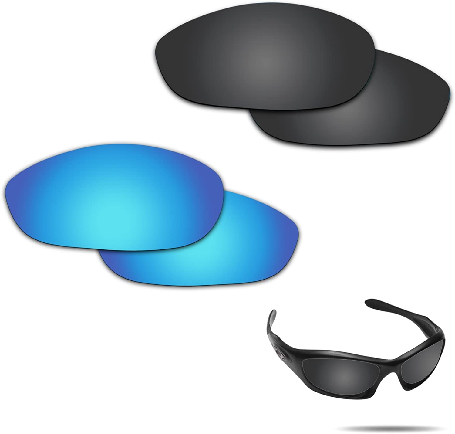 Fiskr Anti-saltwater 受賞店 Polarized Replacement 信託 Mon Oakley Lenses for