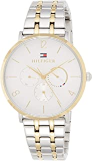 Tommy Hilfiger Women'S White Dial Two Tone Stainless Steel Watch - 1782032