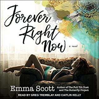 Forever Right Now                   By:                                                                                                                                 Emma Scott                               Narrated by:                                                                                                                                 Greg Tremblay,                                                                                        Caitlin Kelly                      Length: 10 hrs and 47 mins     4 ratings     Overall 4.5