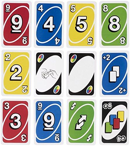 Mattel W2087 – Uno, Kartenspiel - 7