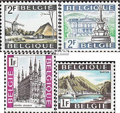 Prophila Collection Bélgica 1521-1522,1537-1538 (Completa.edición.) 1968 Lugares de interés (Sellos para los coleccionistas)