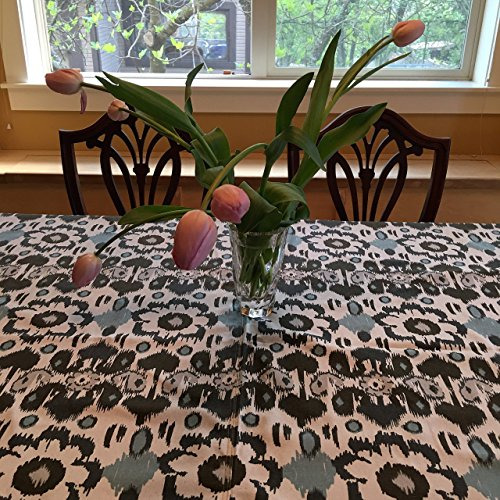TCR1368A 60 Inch Round Table Cloth Made From Up Cycled Decorator's Cotton