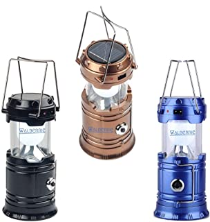 Walberrie LED Solar Emergency Light Lantern (Multicolor,21 x 10 x 9.5 cm,Pack of 1)