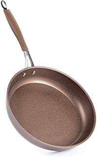 MOKIKA Nonstick Frying Pan, Best Nonstick Omelette Skillet, Stone Coating Cooking Pan, Dishwasher Safe, Induction Compatible(11 inch)