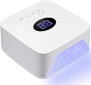 MAIZHAN Lámpara de uñas LED sin Cable Secador de Uñas LED Recargable para Laca de Gel y Todo de Uñas - Uso Multifuncional para el Hogar y el Salón