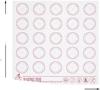 1 tapis de cuisson pour macarons - Anti-adhésif - Tapis en D - Pour cuisson au four - Tapis de cuisson - Tapis de cuisson ...