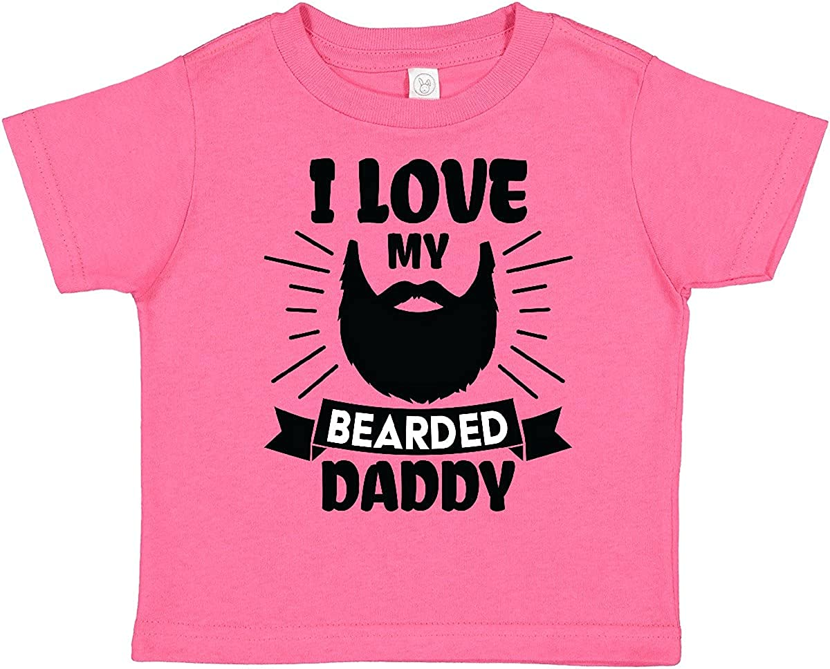 inktastic I Love My Bearded Daddy Silhouette with Toddler Beard All stores are sold Arlington Mall
