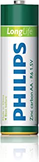 Philips R6L4F-a Long Life Battery Set, 1.5 Volt, Type AA - 4 Pieces