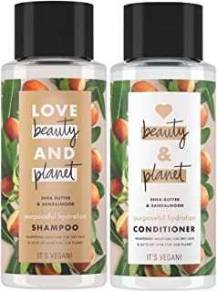 Love Beauty and Planet Purposeful Hydration Shea Butter & Sandalwood Shampoo 400 ml + Conditioner 400 ml
