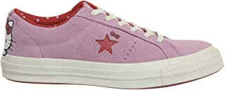 Converse Men's Hello Kitty One Star, Pink/RED