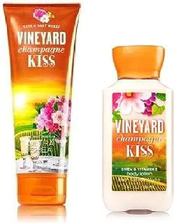 Bath & Body Works Vineyard Champagne Kiss Body Cream & Lotion Set