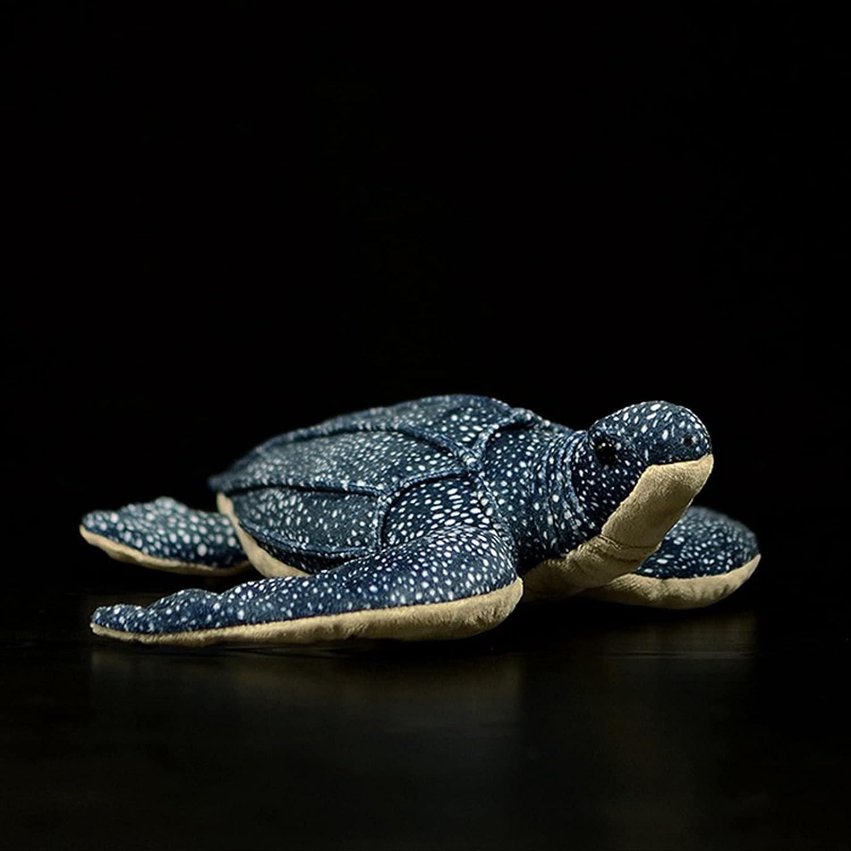 XRZH 35% OFF 30cm Long Leatherback Turtle Sacramento Mall Lifelike Anima Sea Stuffed Toy