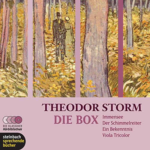 Theodor Storm. Die Box audiobook cover art
