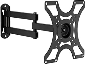 "Mount-It! TV Wall Mount Bracket with Full Motion Arm Fits 13-42"" Flat Screen TVs VESA 75, 100, 200, 55lb Weight Capacity WITH 15"