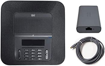 $415 » Cisco CP-8832-K9 IP Conference Phone Bundle - Includes PoE Ethernet Injector (CP-8832-POE=) - Black (Renewed)