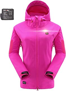 Heated Jacket Outdoor Soft Shell Heating Clothing with...
