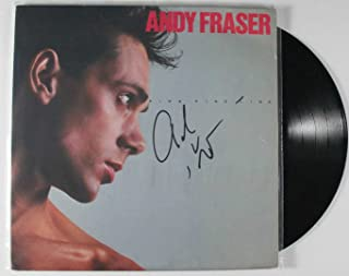 Andy Fraser Signed Autographed