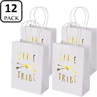 1e44a78b559 Bachelorette Party Bags Set of 12 - PojoTech Bachelorette Party Bride Tribe Gifts  Bags Party Supplies