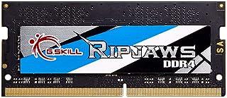 G.Skill 16GB 2400MHz DDR4 SO-DIMM Laptop Memory Module (CL16) 1.20V PC4-19200 Ripjaws DDR4 Series