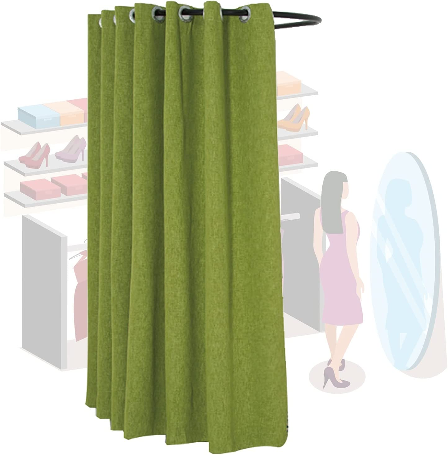 Fitting Max 68% OFF Room Clothing Store U Locker Type Track Move Wall OFFicial