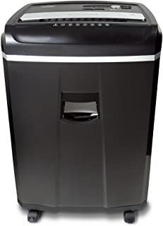 Aurora Professional 20-Sheet Crosscut Paper/Credit Card/CD/DVD Media Shredder with 60 Minutes Continuous Run Time and Pullout Basket, AntiJam Shredder