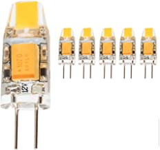 mengjay® G4 1,5 W LED-lampen, 130 lm, 1,5 W vervangt 10 W halogeenlampen, warmwit (2900 K), 12 V AC/DC, G4 LED-lamp [energ...