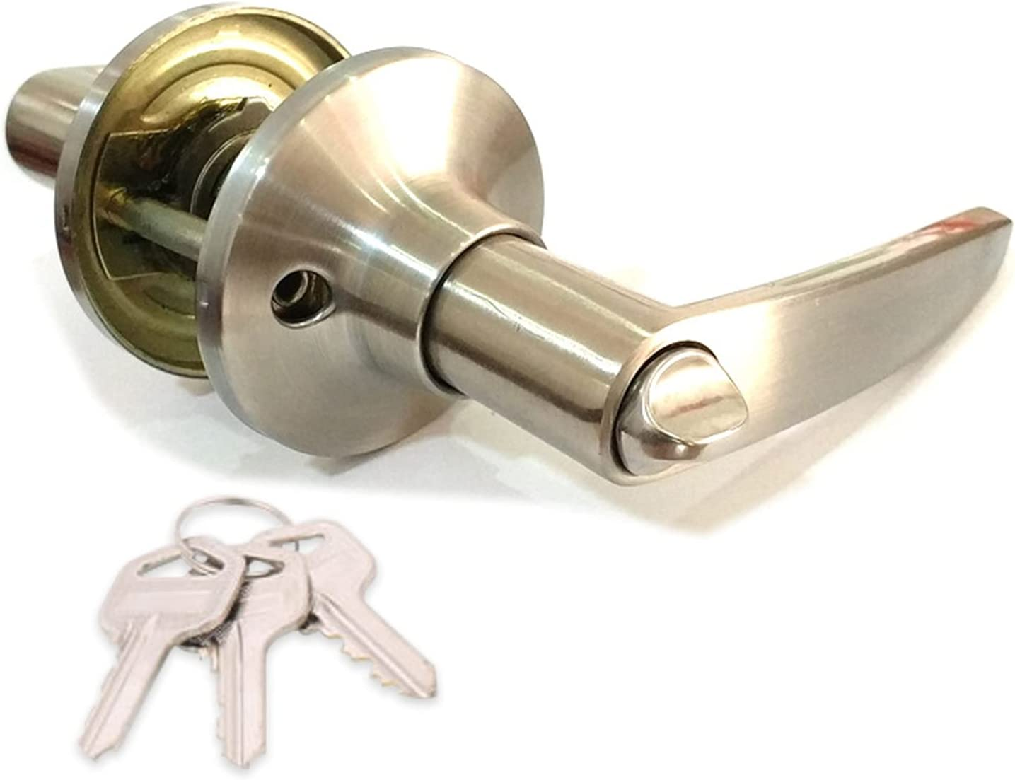 CHENGSYSTE Push 25% OFF Pull Handles Door Lockset Handle Privac Entrance Credence