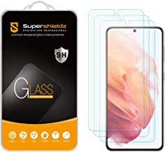 (3 Pack) Supershieldz Designed for Samsung Galaxy S21 5G Tempered Glass Screen Protector, Anti Scratch, Bubble Free