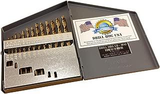 Drill Hog USA 13 Pc COBALT Drill Bit Set Index M42 Drill Bits