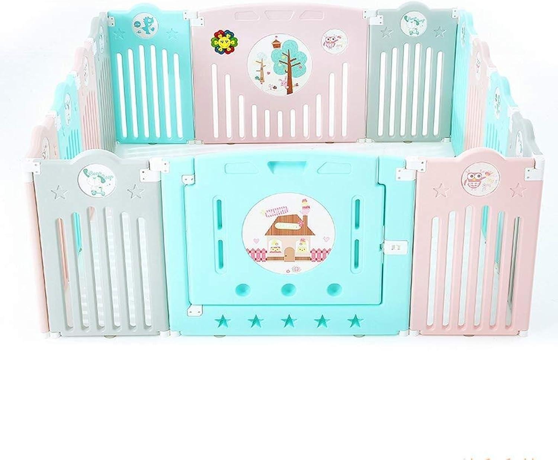 QNJM Baby-Spiel-Zaun, Tragbare Raumteiler-Kind-Kinder-Sperre, Innen- Und Im Freienbabysicherheits-Spiel-Ttigkeits-Mitte (Größe   165×165×68CM)