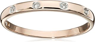 Best rose gold eternity band with pink diamonds Reviews