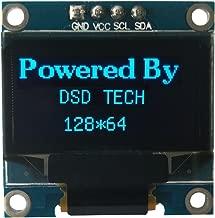 DSD TECH 0.96 INCH IIC OLED LCD Screen Support U8glib for Arduino AVR