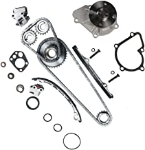 MOCA Timing Chain Kit w/Water Pump for 1998-2004 Nissan Frontier, 2001-2004 Nissan Xterra 2.4L L4 DOHC