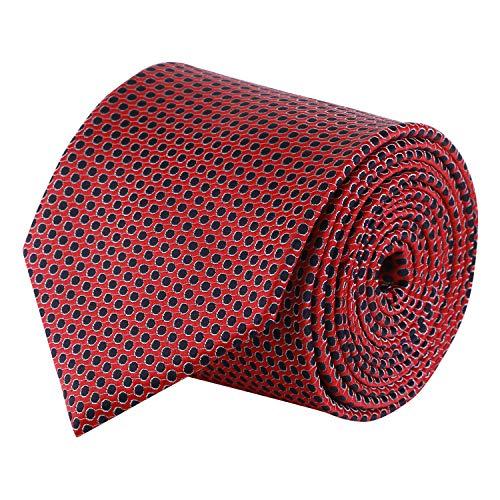 Barata Formal ties For Men,Orange Dot Tie