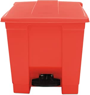 CONTAINER,STEP-ON 8 GL,RD