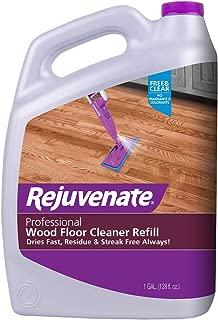 Rejuvenate High-Performance Professional Hardwood Floor Cleaner Streak-Free Formula Eliminates The Toughest Dirt and Grime with Little Effort 128oz