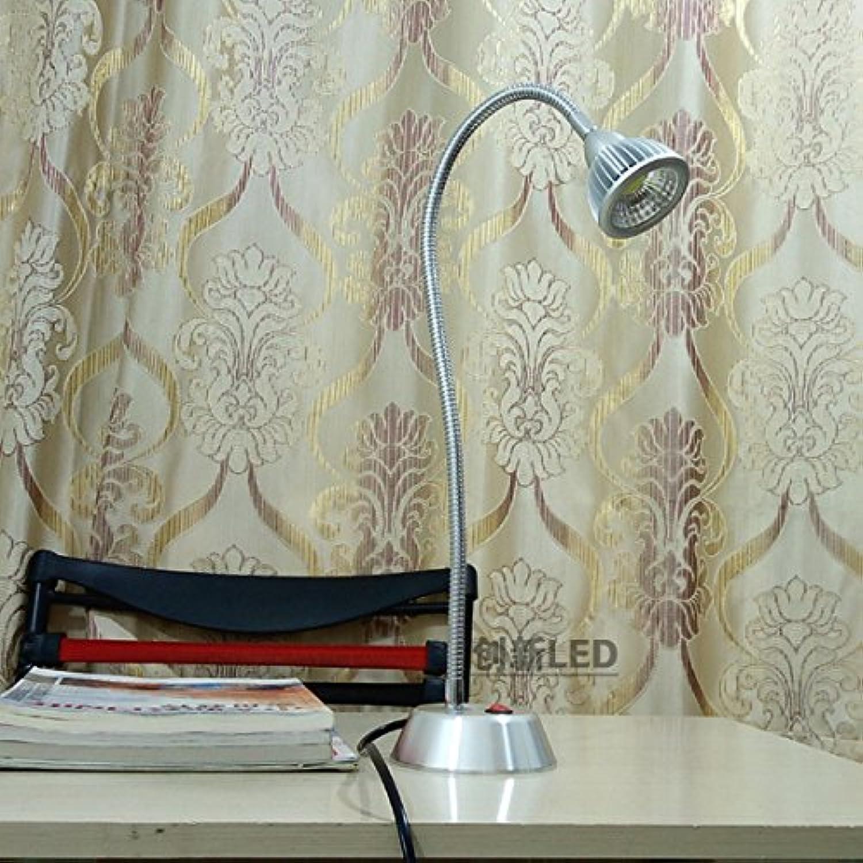 LED-Schreibtischlampe Kinder Auge Bett Schlafzimmer Schreibtische zu schreiben, Plug-in-E-Piano Unterricht einfach Aluminium