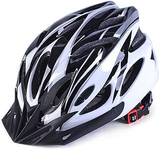 Creamon Casco de Ciclismo para Adultos, Casco de Bicicleta Ultraligero Casco de Bicicleta MTB Deportes al Aire Libre Cascos de Bicicleta de Carretera de montaña Verde-Negro Negro-Blanco
