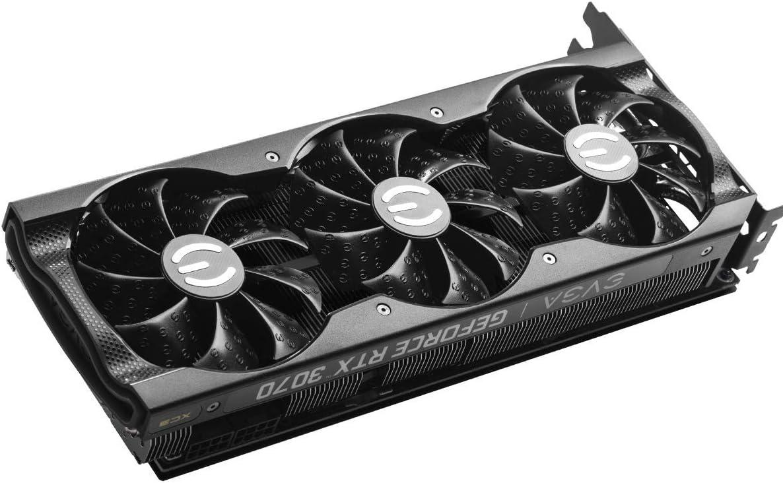 EVGA 08G-P5-3755-KR GeForce RTX 3070 XC3 Ultra Gaming ARGB LED iCX3 Cooling Placa Trasera de Metal 8GB GDDR6