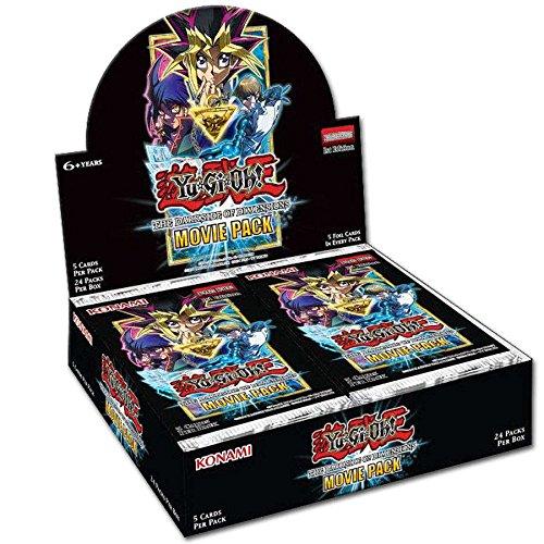 YU-GI-OH! YGO-MVP1-DE The Dark Side of Dimensions Movie Booster Display, Puzzle, 24 Packs Deutsch