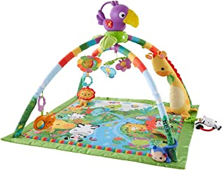 Fisher Price Rainforest Music and Lights DFP08 Deluxe Gym