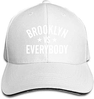 Brooklyn Vs Everybody Unisex Baseball Cap Structured Classic Velcro Adjustable Peaked Sandwich Trucker Hat