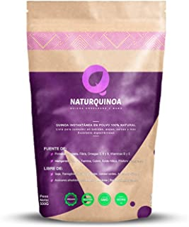 Naturquinoa | Concentrado de Quinoa en polvo Premium 100% natural | Quinoa sin gluten |