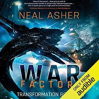 War Factory audiobook cover art